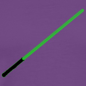 Green Light Saber - Men's Premium T-Shirt