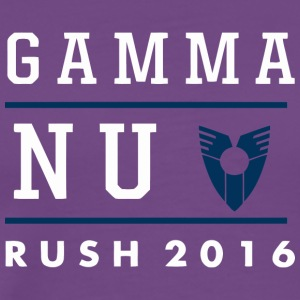Gamma NU Rush - Men's Premium T-Shirt