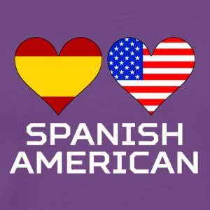 Spanish American Hearts - Men's Premium T-Shirt