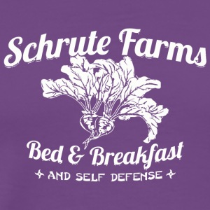Schrute Farms Bed Breakfast - Men's Premium T-Shirt
