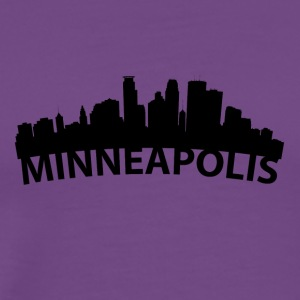 Arc Skyline Of Minneapolis MN - Men's Premium T-Shirt