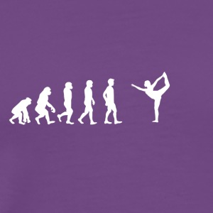 EVOLUTION yoga meditation studio tanzen studio - Men's Premium T-Shirt
