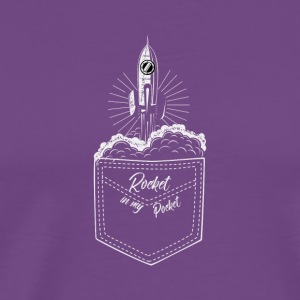 rocket in pocket - Men's Premium T-Shirt