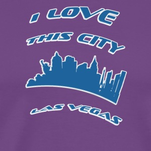 Las vegas I love this city - Men's Premium T-Shirt