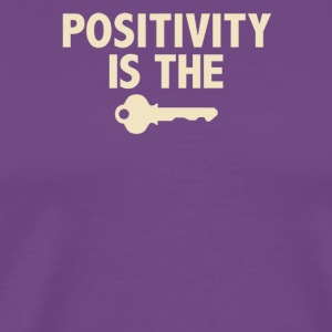 Positivity - Men's Premium T-Shirt