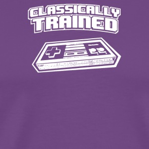Classically Trained Video Game Console - Men's Premium T-Shirt