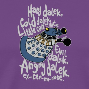 Hard Dalek Cold Dalek - Men's Premium T-Shirt