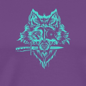 Space Wolf Pirate - Men's Premium T-Shirt