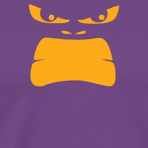 Angry Gorilla Face - Men's Premium T-Shirt