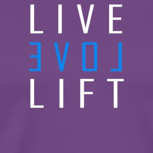 LIVE LOVE LIFT - Men's Premium T-Shirt