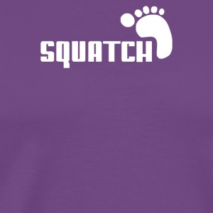 SQUATCH FOOTPRINT - Men's Premium T-Shirt