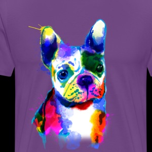 French Bulldog I colorful dog