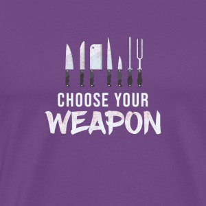 Cool Choose Your Weapon Chef Kitchen Knives Gift