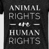 Human Rights - Animal rights are human rights - Men's Premium T-Shirt