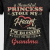 Grandma - A Beautiful Princess Stole My Heart and  - Men's Premium T-Shirt