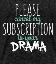 Men com cancel subscription