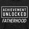 Achievement Unlocked Fatherhood - Men's Premium T-Shirt