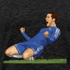 eden hazard - Men's Premium T-Shirt