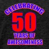 50th birthday design - Men's Premium T-Shirt