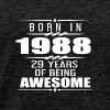 Born in 1988 29 Years of Being Awesome - Men's Premium T-Shirt