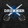 Drummer Drum Sticks Funny Love Percussion Rock - Men's Premium T-Shirt