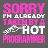 Hot Programmer Tee Shirt - Men's Premium T-Shirt
