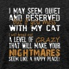 If You Mess With My Cat T Shirt - Men's Premium T-Shirt