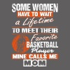 Basketball Player Mine Calls Me Mom T Shirt - Men's Premium T-Shirt