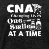 CNA Changing Lives One Smile At A Time - Men's Premium T-Shirt