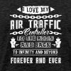 I Love My Air Traffic Controller To The Moon - Men's Premium T-Shirt