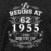 Life begins 62 1955 The birth of legends - Men's Premium T-Shirt