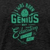 I Was Born Genius - Men's Premium T-Shirt