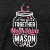 Moonshine and Mason Jar Tee Shirts - Men's Premium T-Shirt
