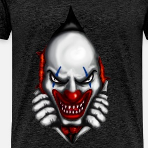 scary clown inside