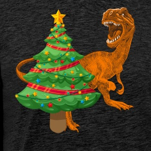Dinosaur Christmas sweater