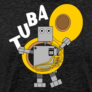 Tuba Robot White Text