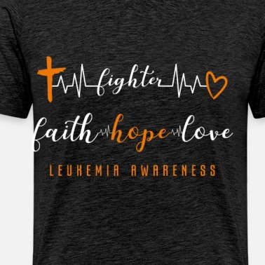 Fight Leukemia Cancer Together Survivor awareness Unisex Tri-Blend Hoodie  Shirt - heather gray