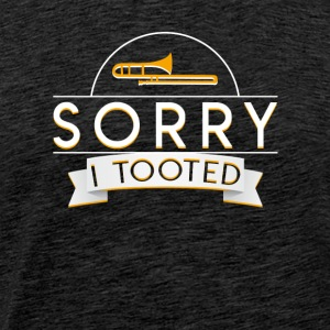 Trombone Player Marching Band Tooted