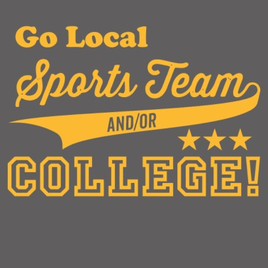 7cbca397d Go Local Sports Team And Or College Men's Premium T-Shirt | Spreadshirt