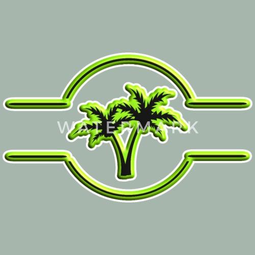 Palm Tree 3d Symbol By Ak1shirts Spreadshirt