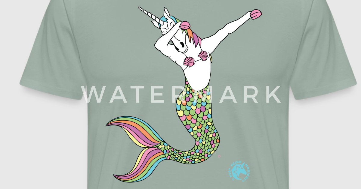 Dabbing Unicorn Mermaid Outline By Keep Being Magical