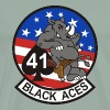 F/A-18 Rhino VFA-41 Black Aces - Men's Premium T-Shirt