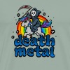 Death Metal Pony Rainbow T-Shirt - Heavy Metal Tee - Men's Premium T-Shirt