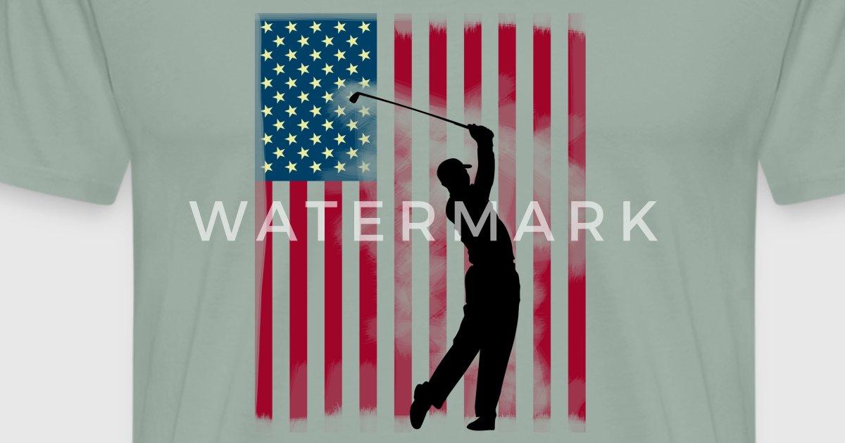 golf amerika flag schlag handicap by original star spreadshirt
