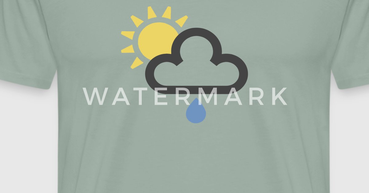 British Weather Forecast Symbol Rain Cloud Funny By Spreadshirt