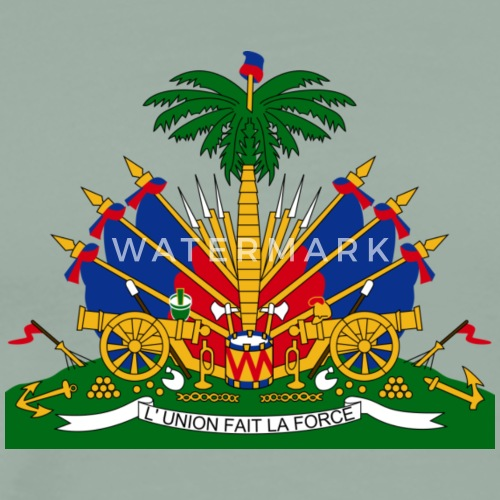 National Coat Of Arms Of Haiti By Custom T Shirts Spreadshirt