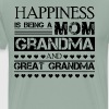Mom Grandma And Great Grandma Shirt - Men's Premium T-Shirt