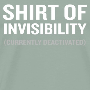 Shirt of Invisibility Lover Funny Geek Wizard