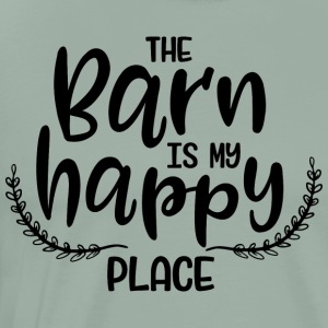 the barn is my happy place