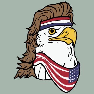 60eea337 Patriotic Happy 4th Fourth of July T-Shirt Men's T-Shirt   Spreadshirt
